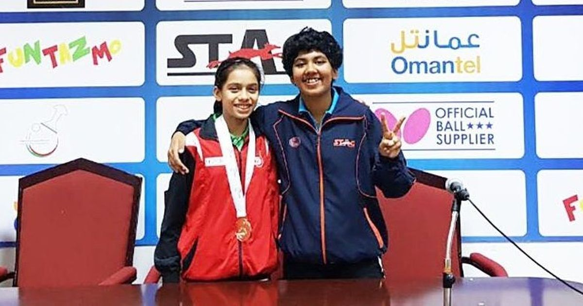 India paddler Suhana Saini claims gold at ITTF Oman Open
