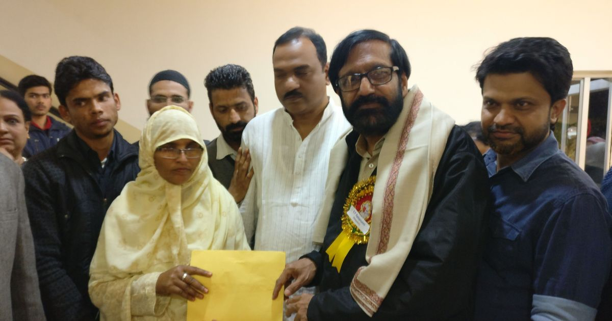 Malayalam Sahitya Akademi Award winner donates prize money to lynching victim Junaid Khan's mother