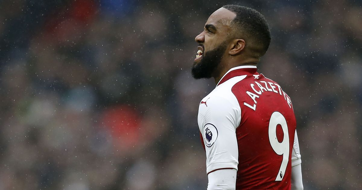 Huge blow for Arsenal as Lacazette out for at least six weeks after knee operation
