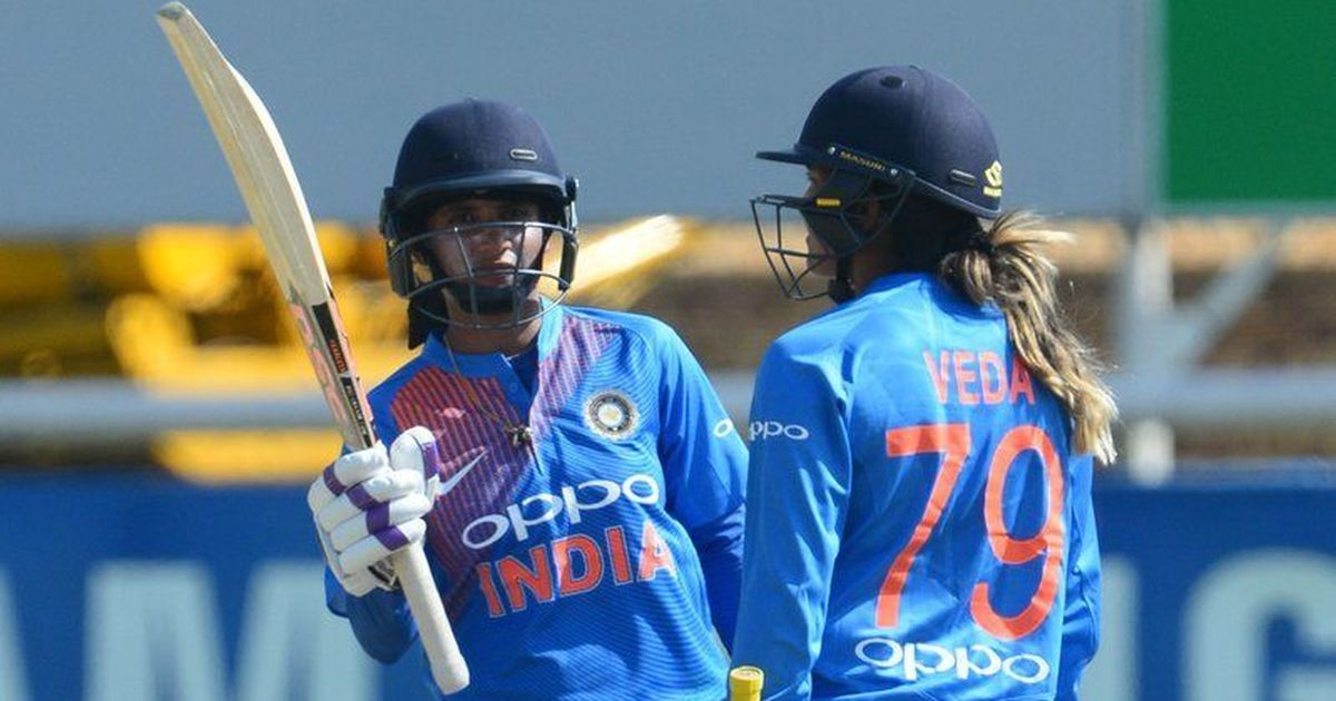 Mithali stars in India's win
