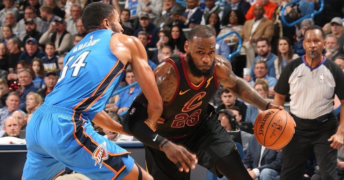 LeBron's stunning third quarter performance guides Cavaliers to victory over  Thunder
