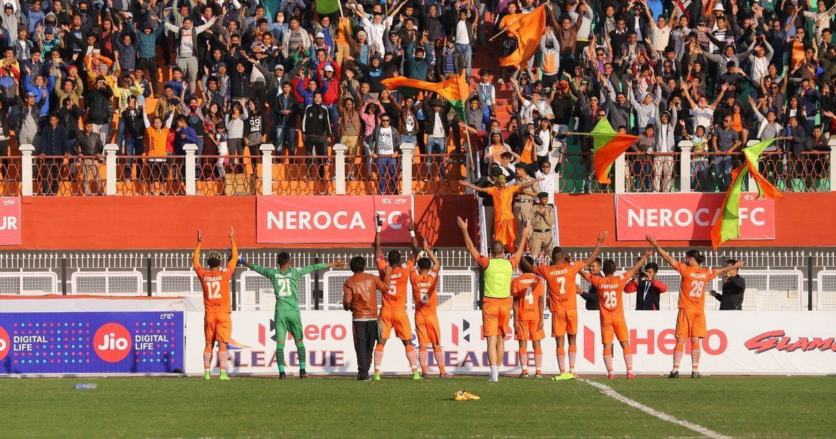 Neroca FC win late against Churchill Brothers to spice up I-League title race