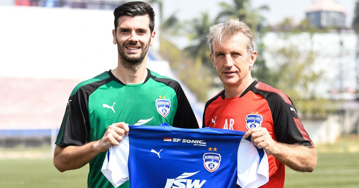 ISL: Bengaluru FC sign striker Daniel Segovia for the remainder of the season
