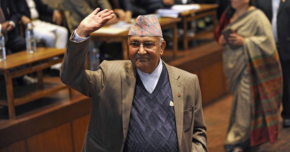 नेपाल के प्रधानमंत्री केपी शर्मा ओली भारत पहुंचे