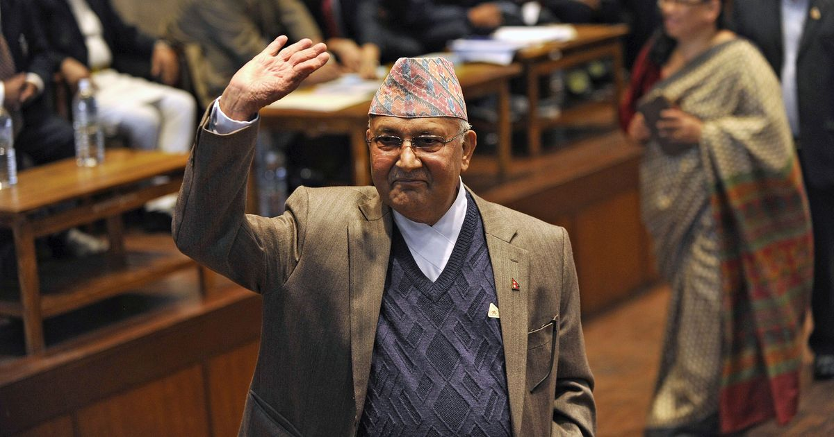 KP Sharma Oli sworn in as the 41st Prime Minister of Nepal