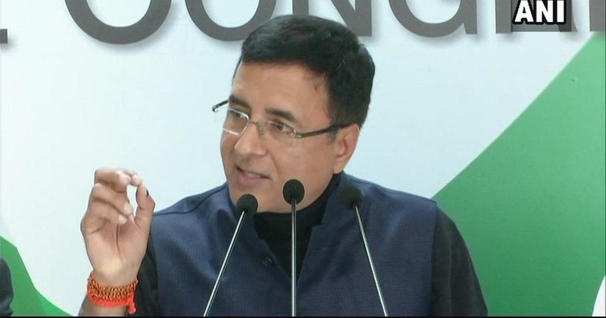 महाराष्ट्र में भाजपा सरकार दलित कार्यकर्ताओं को माओवादी बता रही है : रणदीप सुरजेवाला