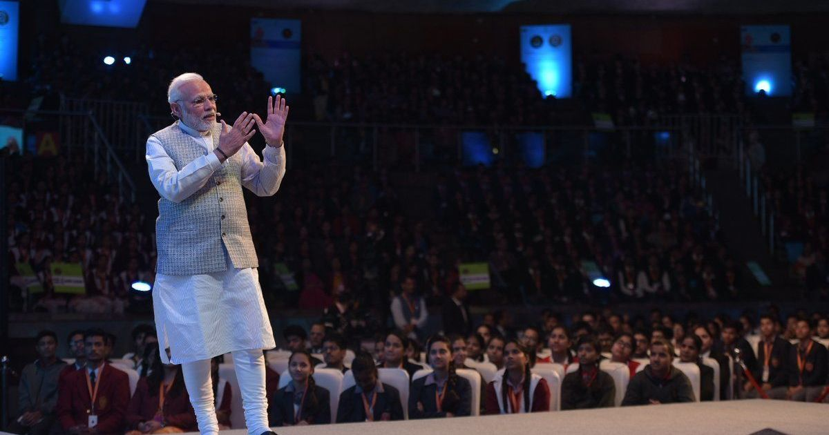 'You are my examiners today,' PM Modi tells students at his Pariksha Par Charcha