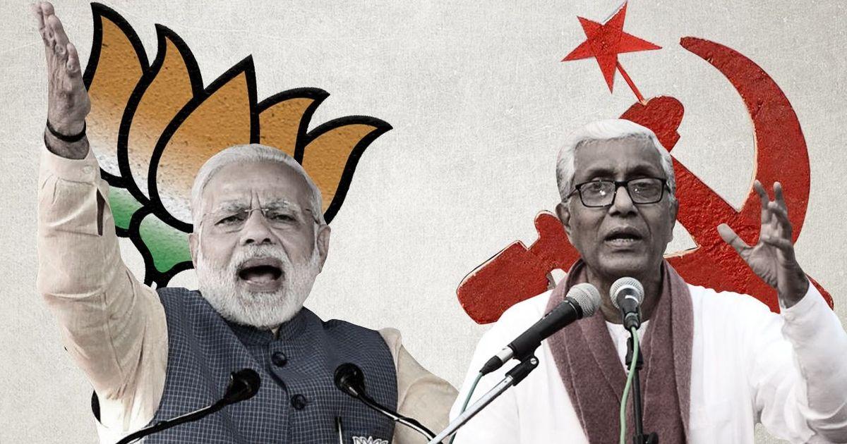 त्रिपुरा में पहली बार भाजपा सरकार के आसार