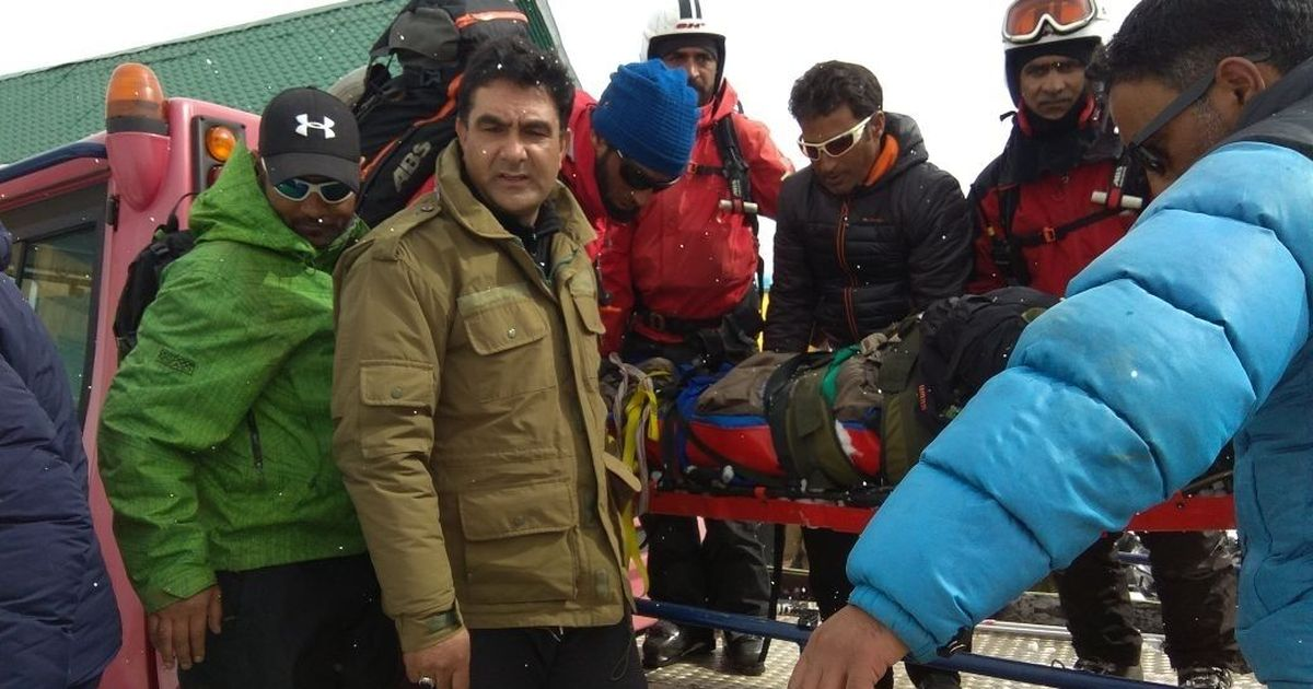 Russian skier dies in Gulmarg,4others rescued
