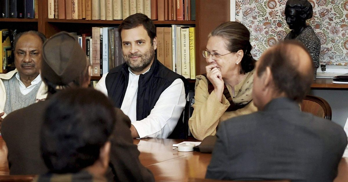 Fresh start Rahul Gandhi disbands Congress party's top body to put his own team in place