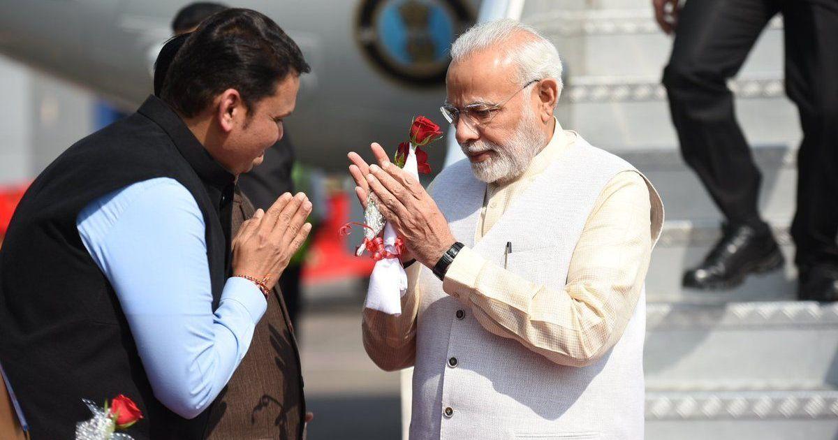 PM Modi lays foundation stone of Navi Mumbai Airport