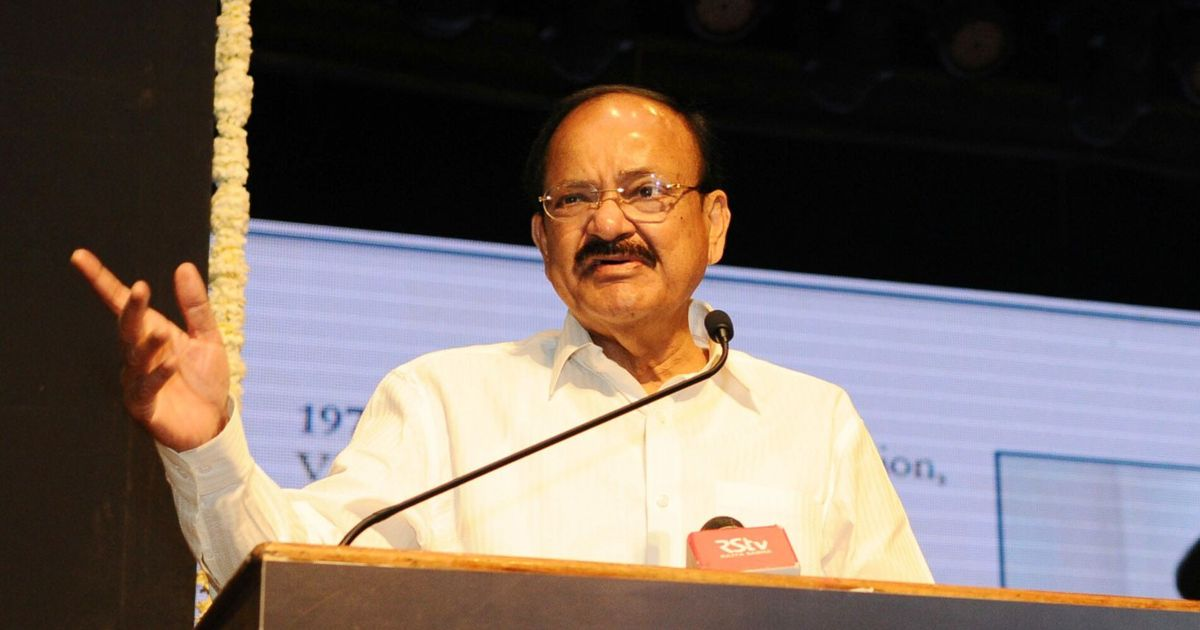 Covid-19 lockdown: Venkaiah Naidu asks citizens to cooperate 'if hardships continue beyond April 14'