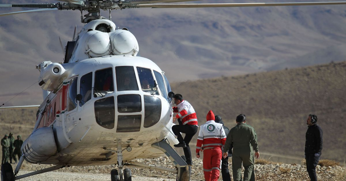 Iran locates wreckage of crashed passenger plane