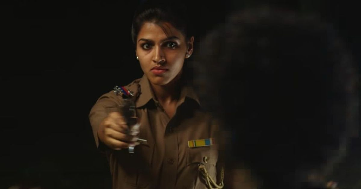 Trailer talk: Sai Dhanshika's police officer chases a goofy kidnapping duo in 'Kaathadi'