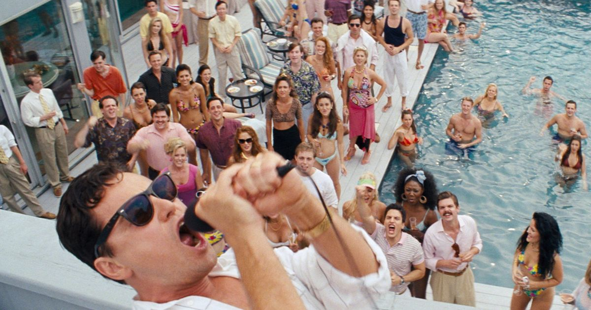 Books versus movie: Both versions of 'The Wolf of Wall Street' lack bite and a moral core