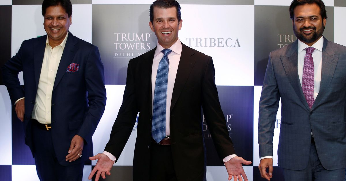 'Selling America's integrity cheap': US media slams Trump Jr's India visit for conflict of interest