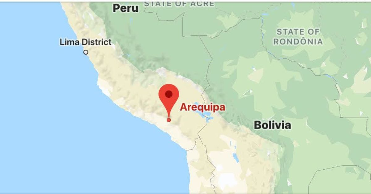 At least 44 dead after bus hurtles down cliff in southern Peru