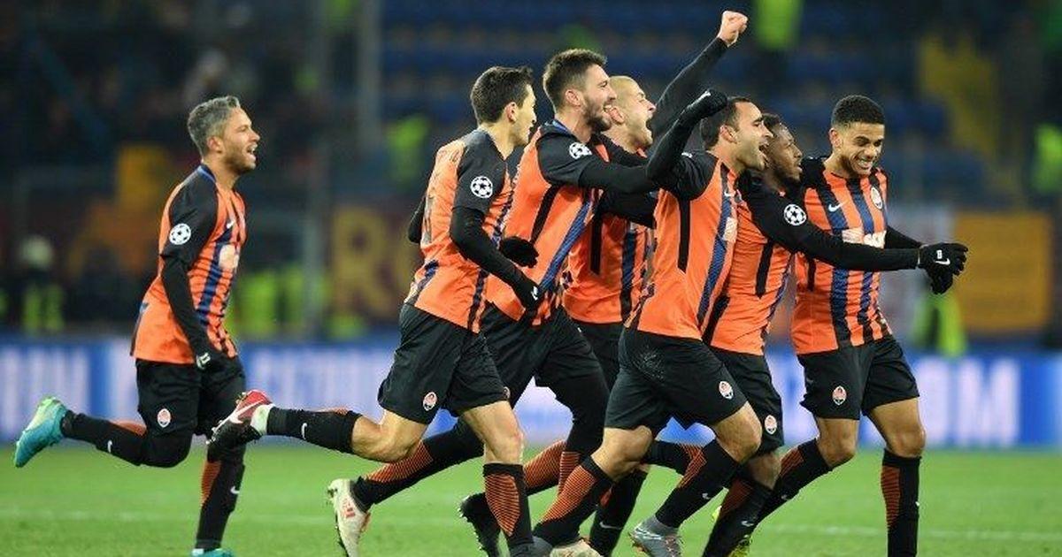 Shakhtar Donetsk edge Roma while Manchester United hold Sevilla