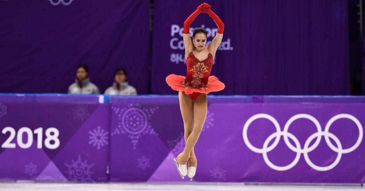 15-year-old figure skater Alina Zagitova gives Russia first gold at Pyeongchang