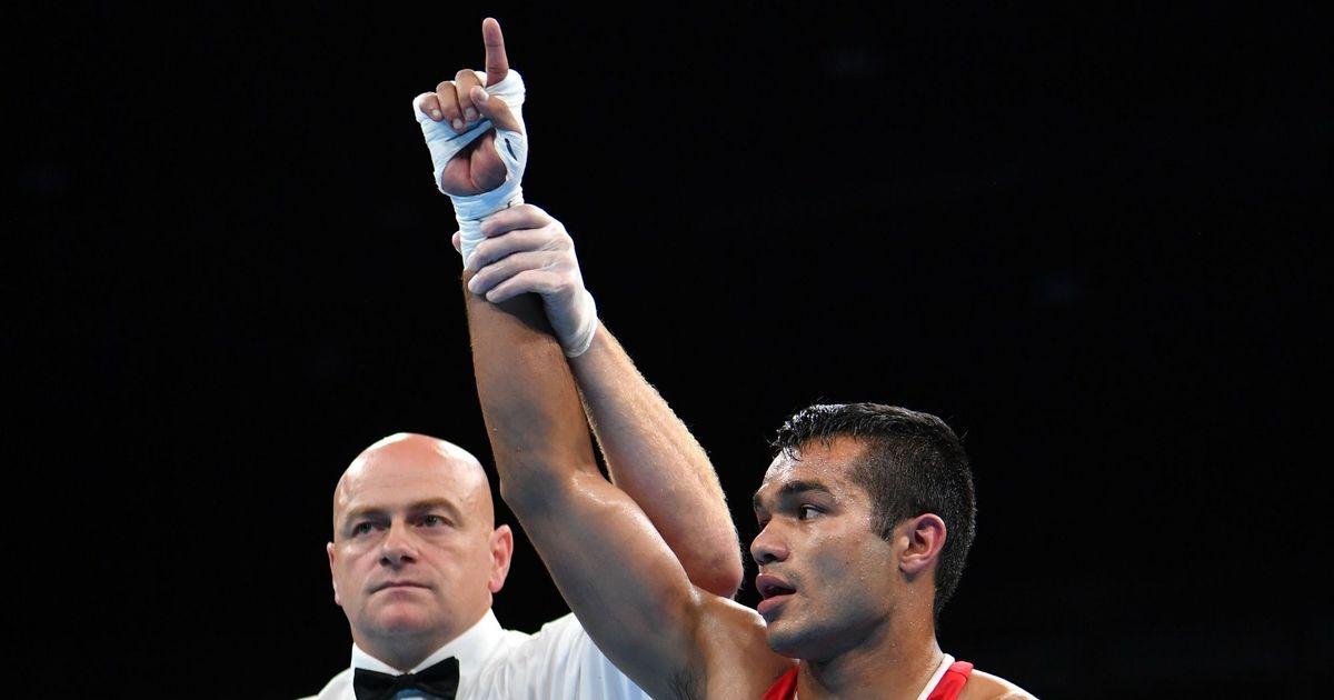 Vikas Krishan adjudged best boxer of  Strandja Memorial after gold medal comeback