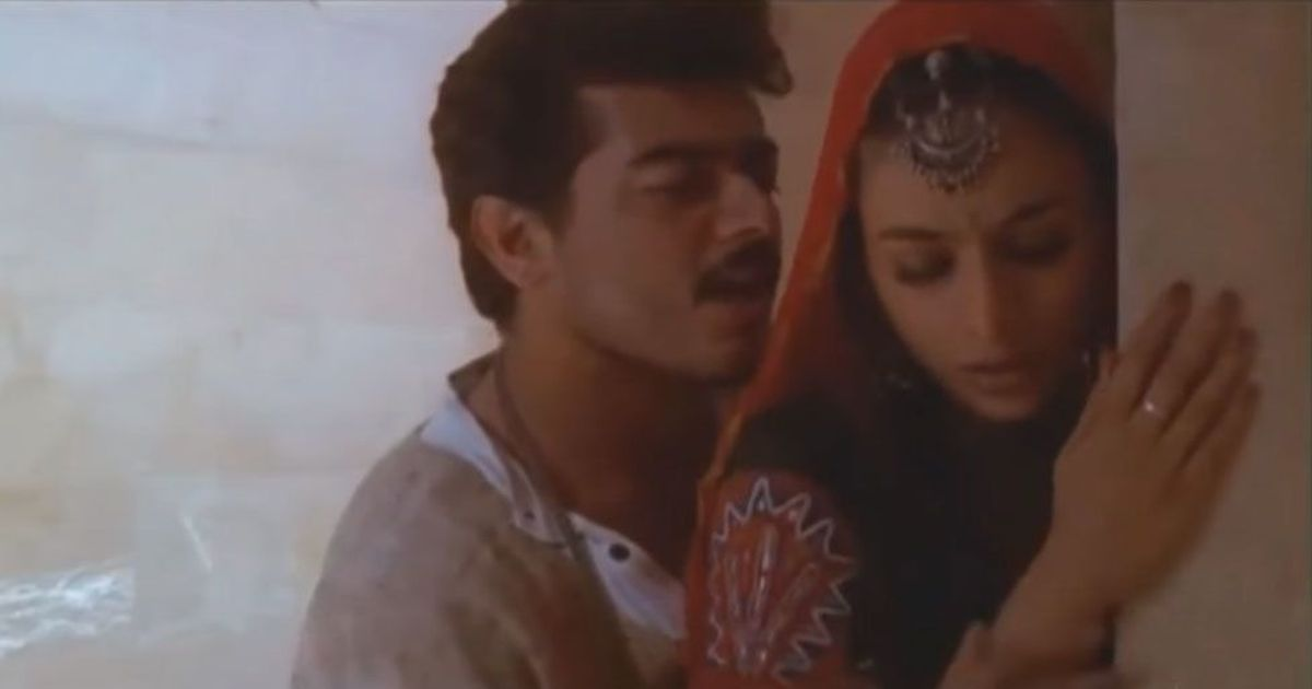 Picture the song: We say yes, yes, yes, to 'Yenna Solla Pogirai' from 'Kandukondain Kandukondain'
