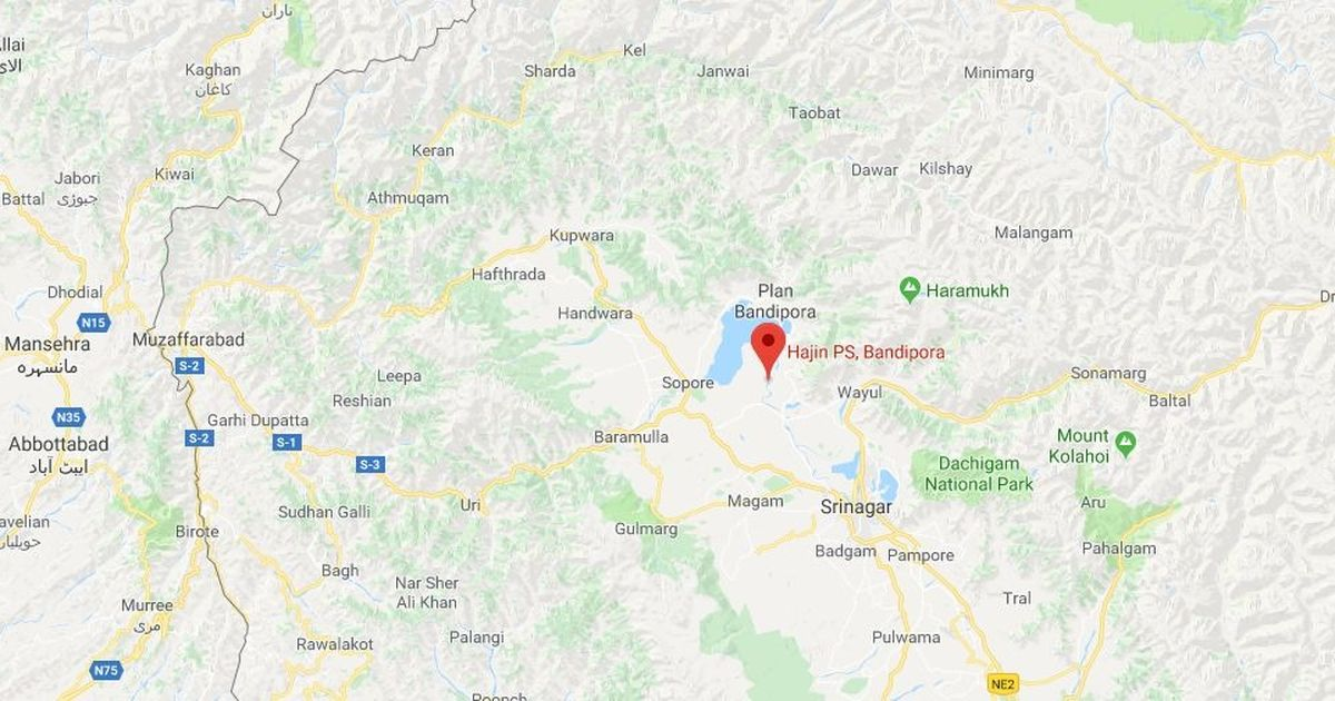 J&K: Suspected militants attack Army camp and police station at Hajin in Bandipora district