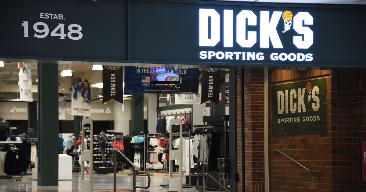About dicks sporting goods company consider