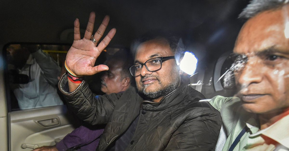 Karti Chidambaram brought to Delhi's Patiala House Court