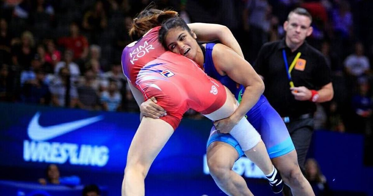 Navjot Kaur clinches gold in the Asian Wrestling