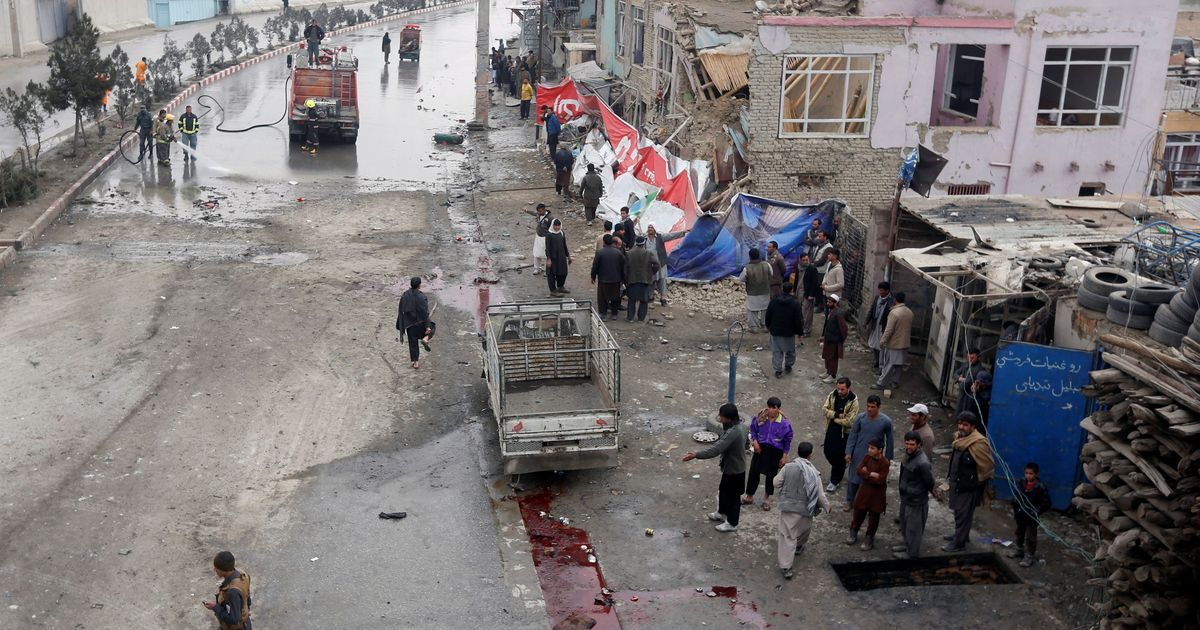 Australians among 22 wounded in Kabul bombing