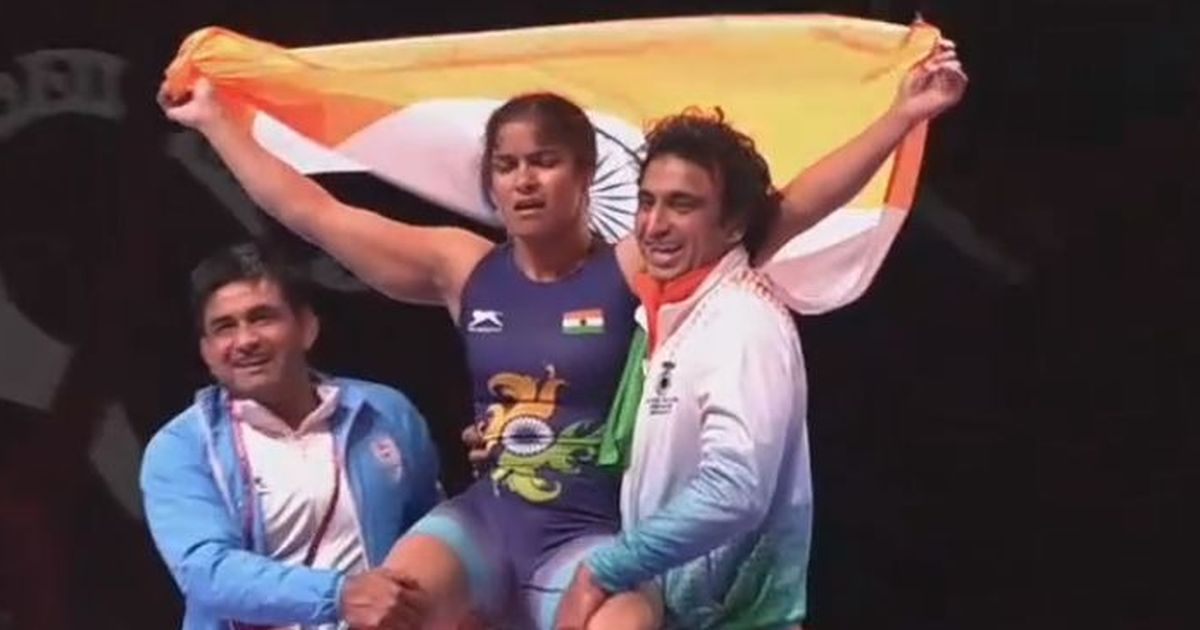 First Indian woman to clinch gold at Asian Wrestling Championships!