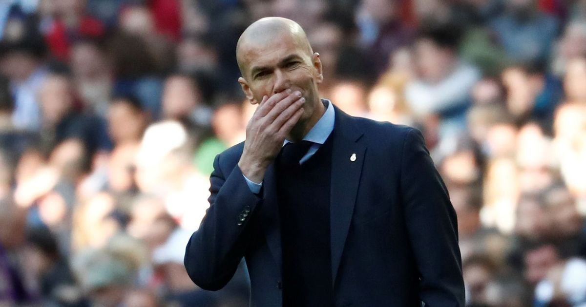 'I've got my feet up and am feeling good': Zidane happy after Real Madrid exit