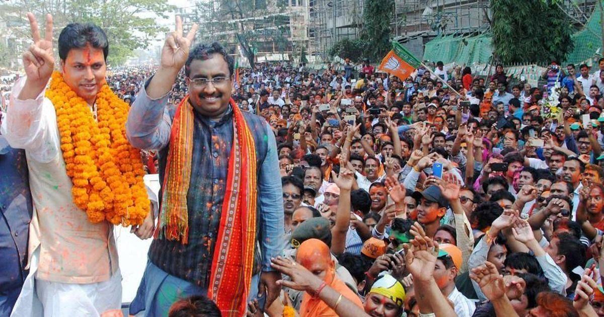 जिस पूर्वोत्तर में भाजपा को कभी उम्मीदवारों के लाले थे वहां वह सबसे मजबूत कैसे बन गई?
