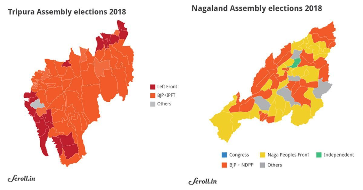 Unhappy youth, infighting, regional forces: Scroll's reportage from the North East elections