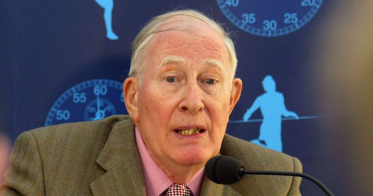 Sir Roger Bannister who completed first four-minute mile dies