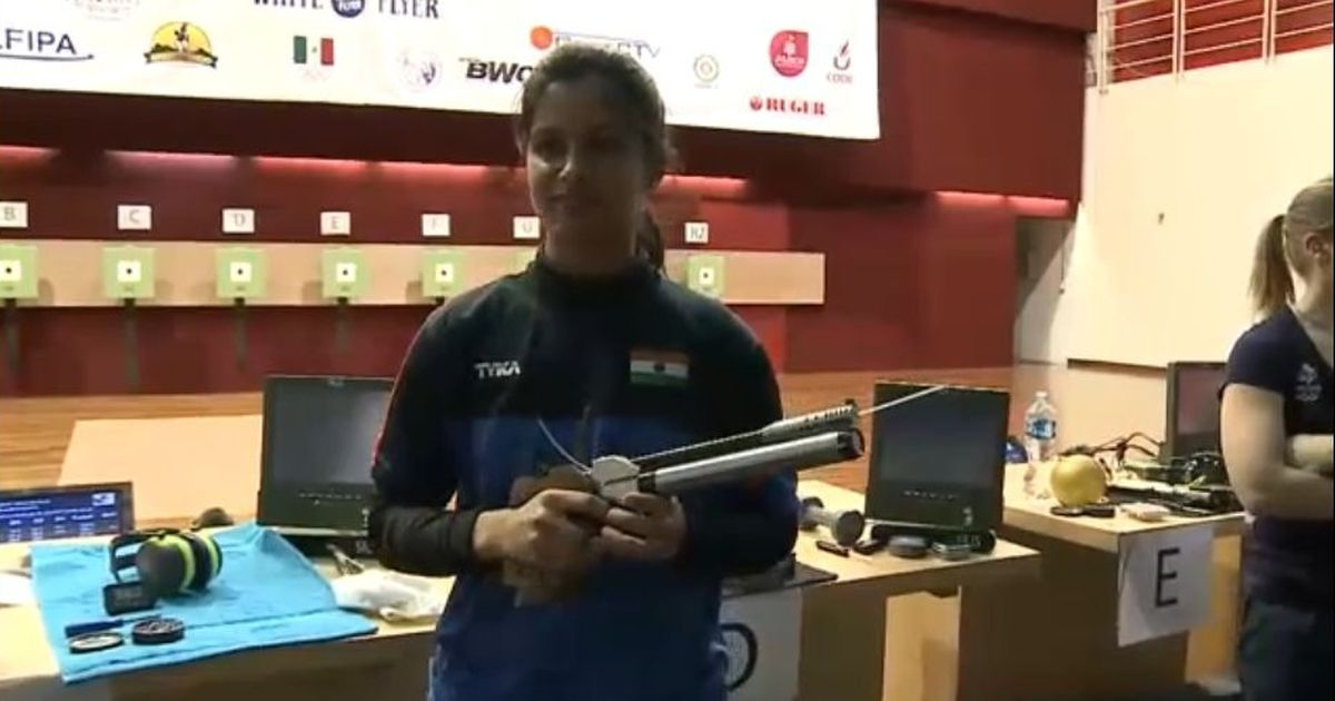 Haryana shooter creates history, is youngest Indian to win World Cup gold