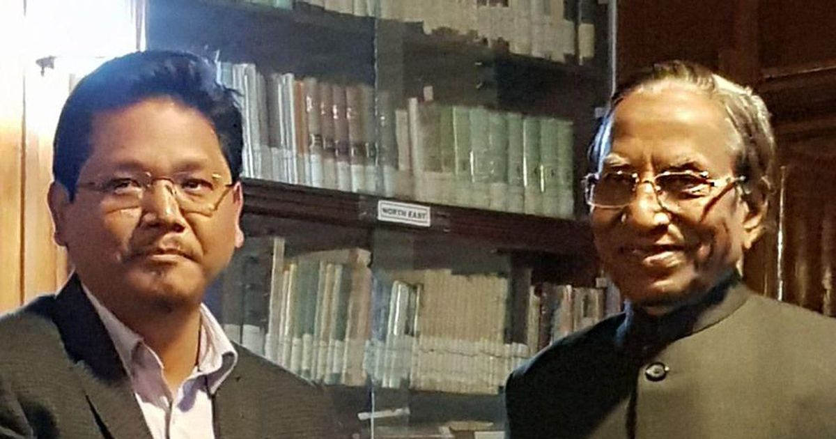 Conrad Sangma, Backed By BJP, Faces First Challenge Before Meghalaya Oath