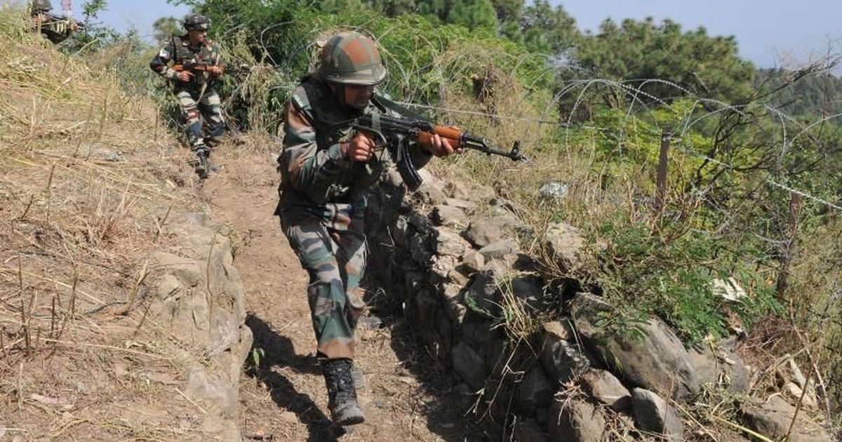 CRPF ROP attacked in Kashmir, civilian injured