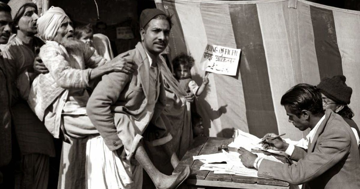 As newly independent India set about becoming a democracy, the press played a crucial role