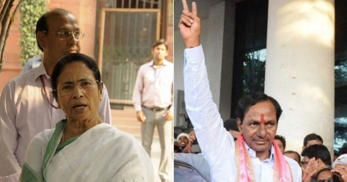 There's a need for an alternate force' Telangana CM on a Third Front after meeting Mamata Banerjee