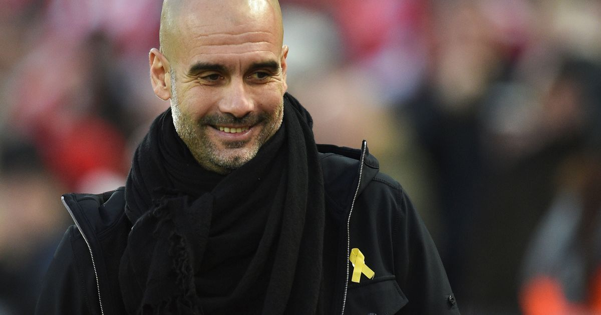 Guardiola accepts FA charge for wearing yellow ribbon