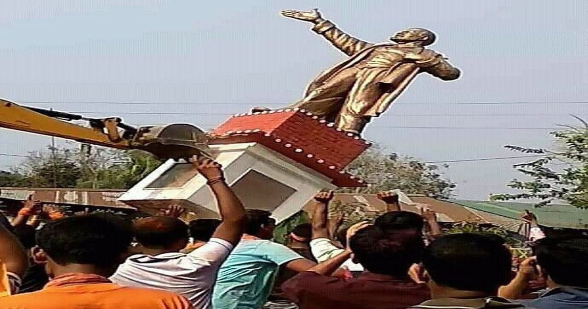 Gentle reminder: Statue toppling is not a democratic sport