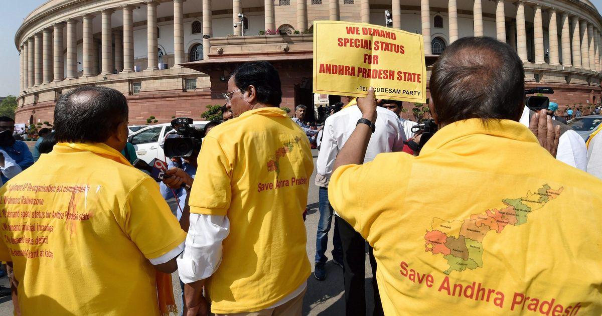 Narendra Modi speaks to Andhra Pradesh CM Chandrababu Naidu amid row over special status for state