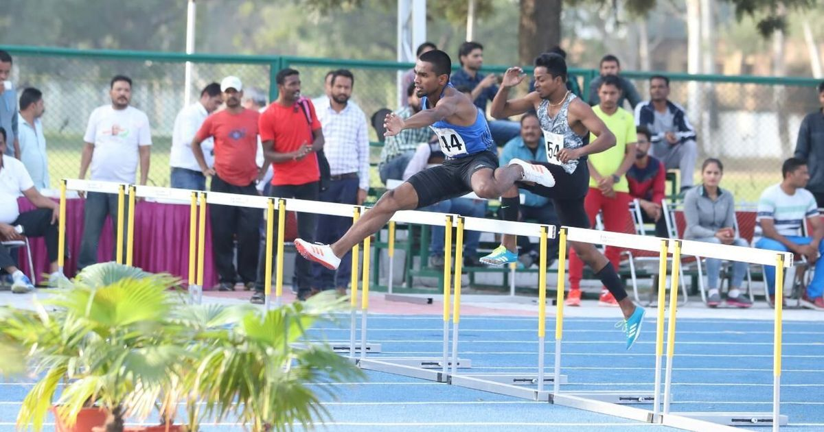 Federation Cup Athletics: Dharun breaks national record in 400m hurdles, earns CWG spot