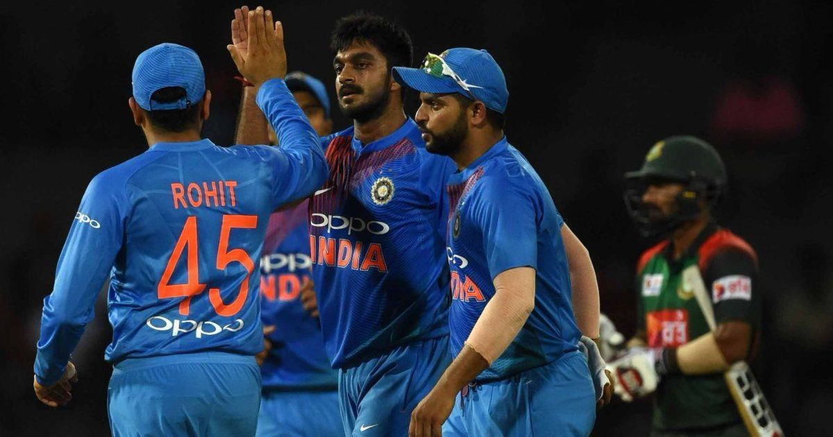 Nidahas Trophy: India defeats Bangladesh by Six Wickets