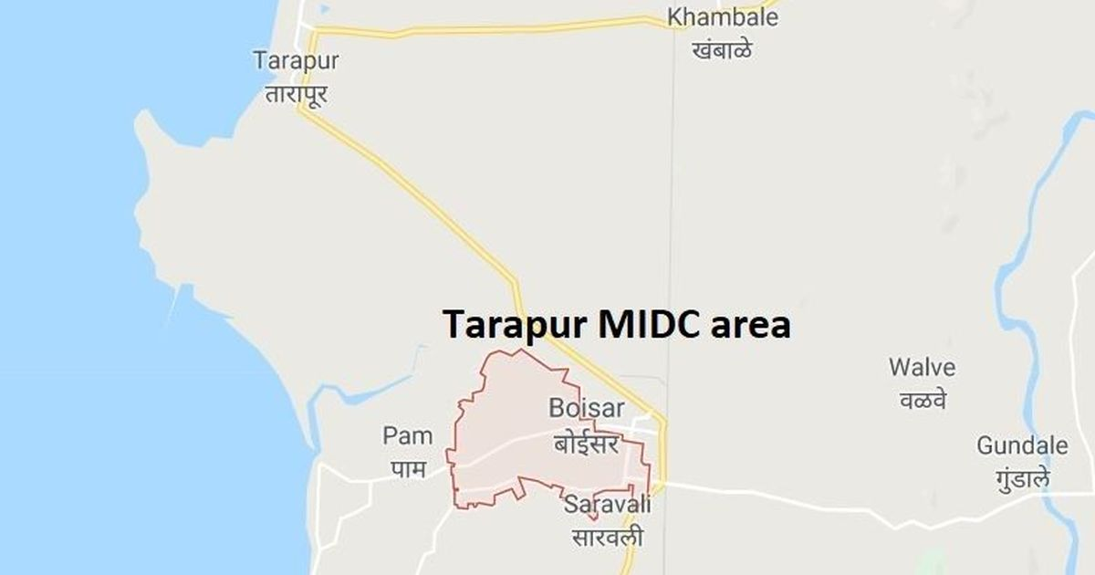 Massive fire breaks out in Tarapur factory