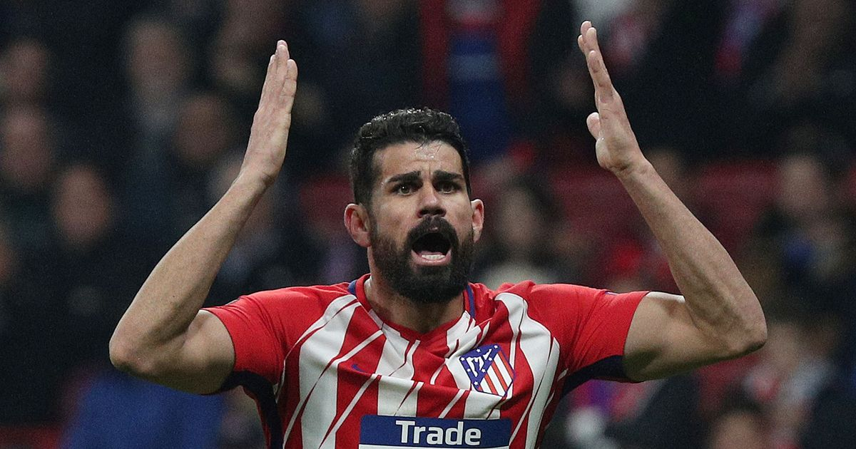 Europa League: Diego Costa leads Atletico Madrid's rout over Lokomotiv Moscow