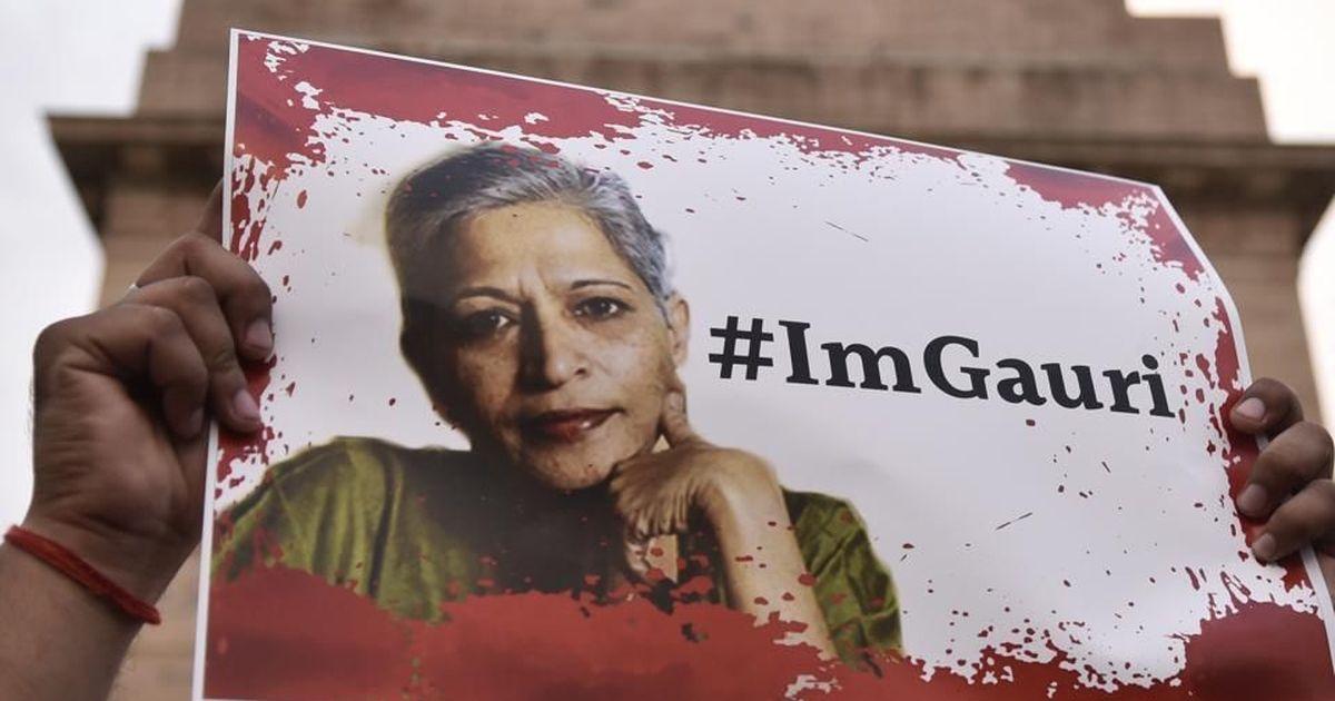 गौरी लंकेश हत्याकांड में पुलिस का दावा, आरोपित को एक और लेखक की हत्या का काम सौंपा गया था