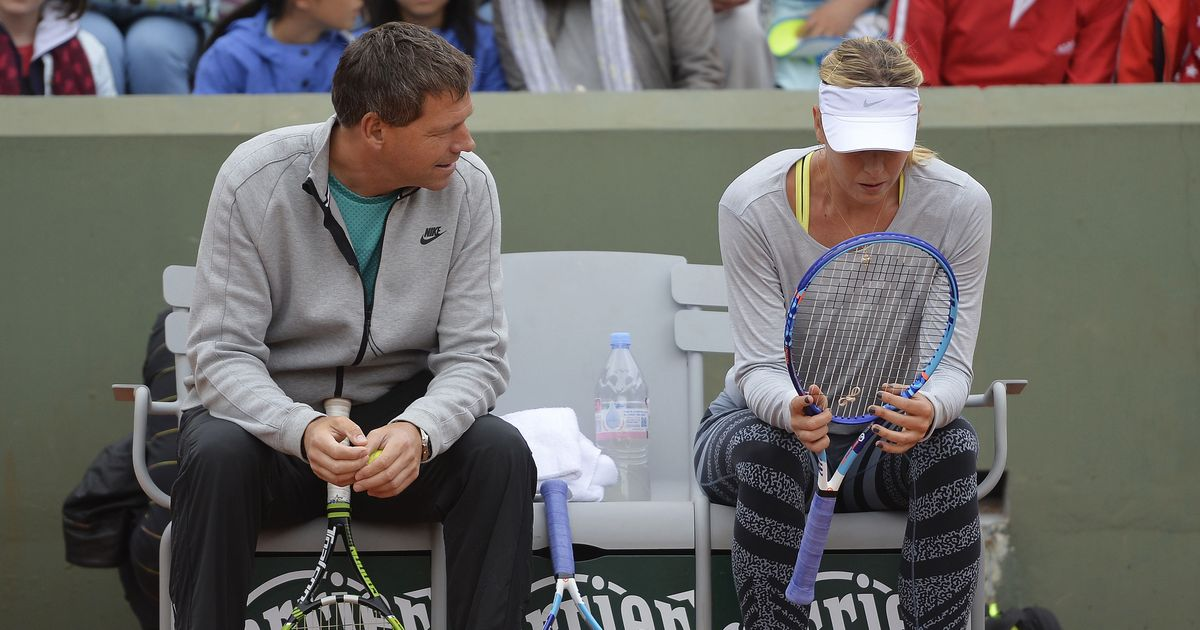 Maria Sharapova parts ways with coach Sven Groeneveld after
