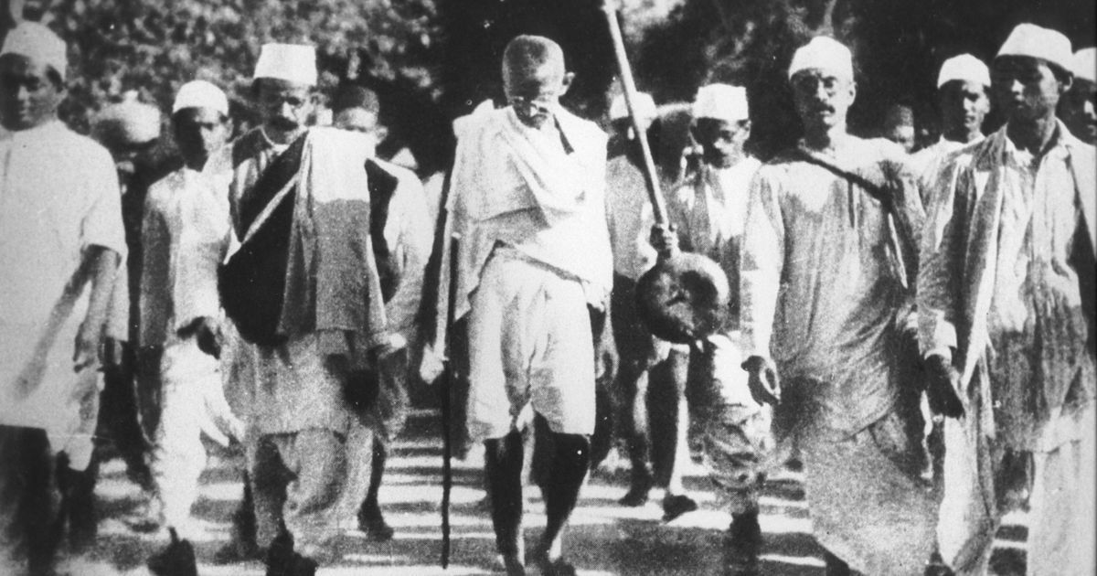 Video: On this day 88 years ago, Gandhi began the Dandi March to protest  the British salt tax